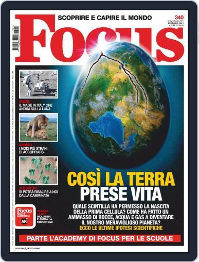 Focus Italia (Digital) February 1st, 2021 Issue Cover