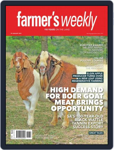 Farmer's Weekly January 29th, 2021 Digital Back Issue Cover