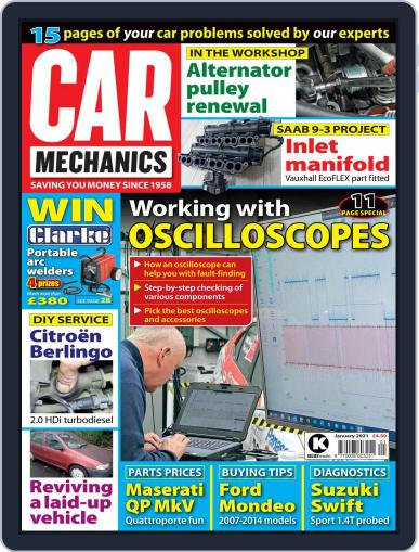 Car Mechanics (Digital) January 1st, 2021 Issue Cover