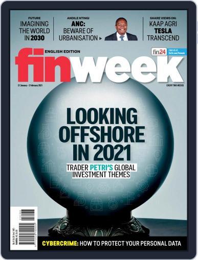 Finweek - English (Digital) January 21st, 2021 Issue Cover