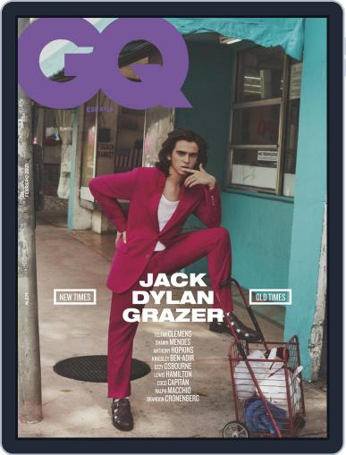 Gq España (Digital) February 1st, 2021 Issue Cover
