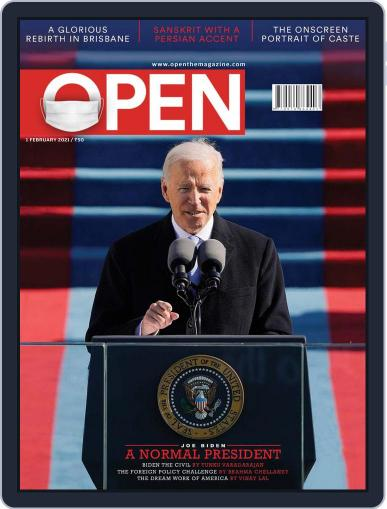 Open India January 22nd, 2021 Digital Back Issue Cover