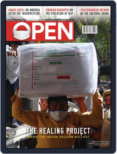 Open India January 15th, 2021 Digital Back Issue Cover