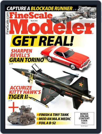 FineScale Modeler (Digital) March 1st, 2021 Issue Cover