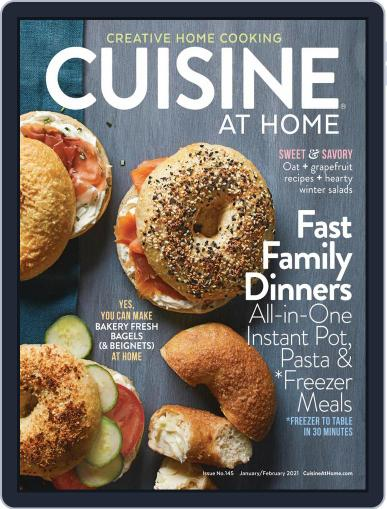 Cuisine at home (Digital) January 1st, 2021 Issue Cover