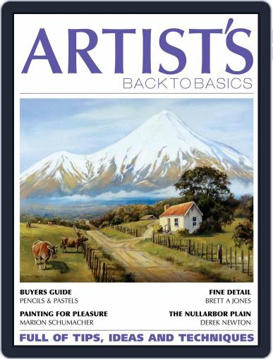 Artists Back to Basics January 1st, 2021 Digital Back Issue Cover