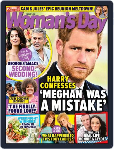 Woman's Day Australia (Digital) February 1st, 2021 Issue Cover
