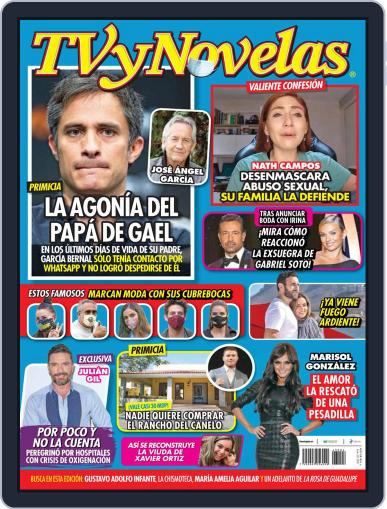 TV y Novelas México (Digital) January 25th, 2021 Issue Cover