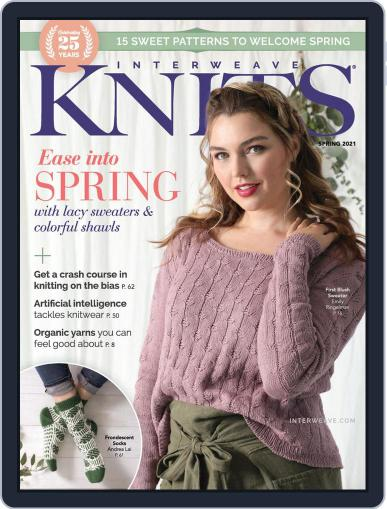 Interweave Knits January 14th, 2021 Digital Back Issue Cover