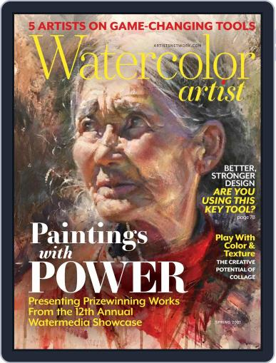 Watercolor Artist (Digital) March 1st, 2021 Issue Cover