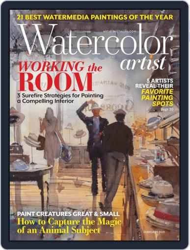Watercolor Artist (Digital) February 1st, 2021 Issue Cover