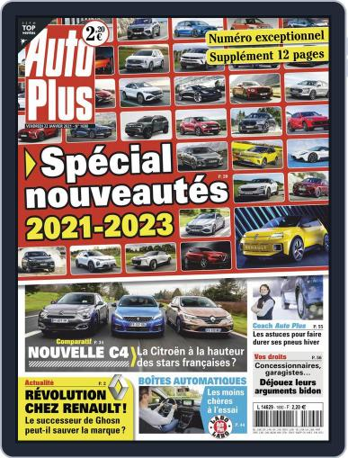 Auto Plus France (Digital) January 22nd, 2021 Issue Cover