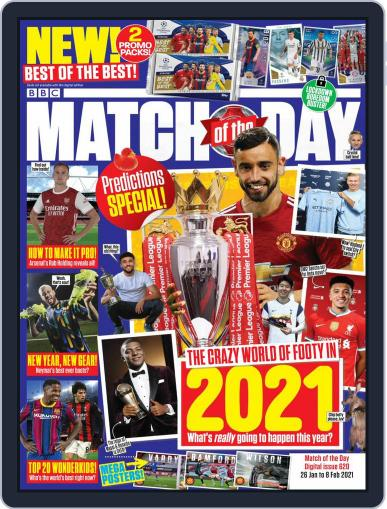 Match Of The Day (Digital) January 26th, 2021 Issue Cover