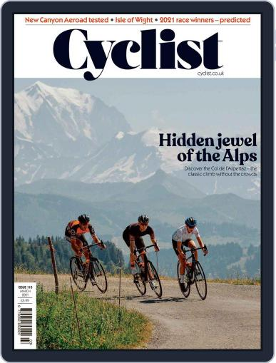 Cyclist (Digital) March 1st, 2021 Issue Cover