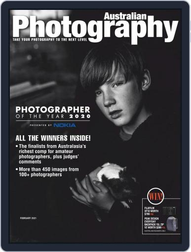 Australian Photography (Digital) February 1st, 2021 Issue Cover