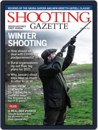 Shooting Gazette January 1st, 2021 Digital Back Issue Cover