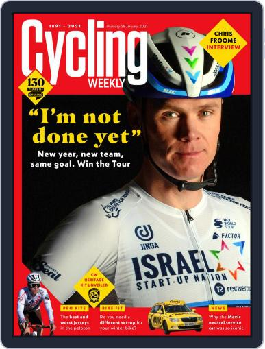 Cycling Weekly January 28th, 2021 Digital Back Issue Cover