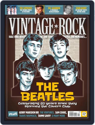 Vintage Rock (Digital) February 1st, 2021 Issue Cover