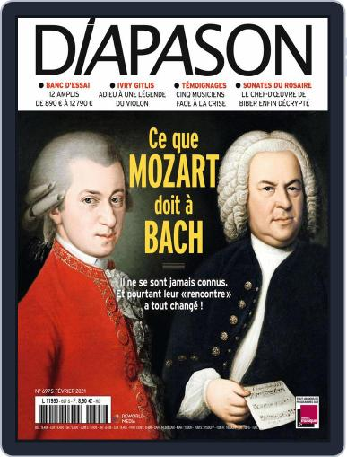 Diapason (Digital) February 1st, 2021 Issue Cover