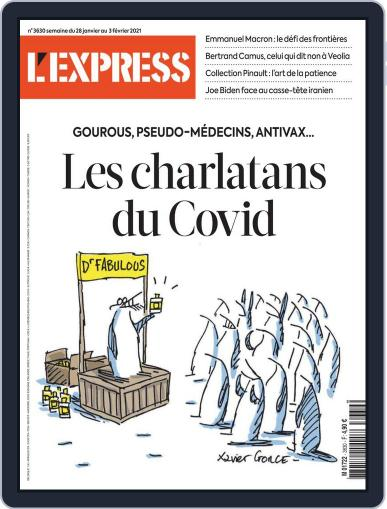 L'express (Digital) January 28th, 2021 Issue Cover