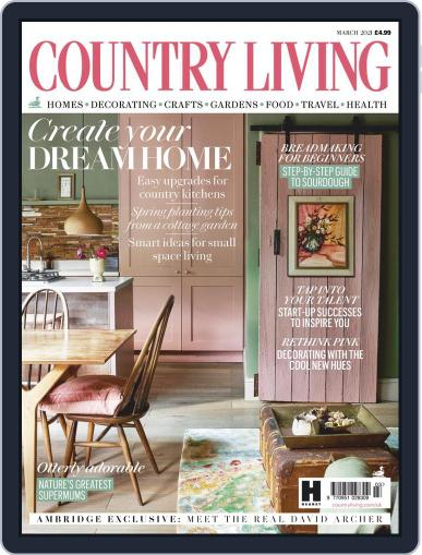 Country Living UK March 1st, 2021 Digital Back Issue Cover