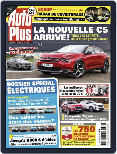 Auto Plus France (Digital) January 29th, 2021 Issue Cover