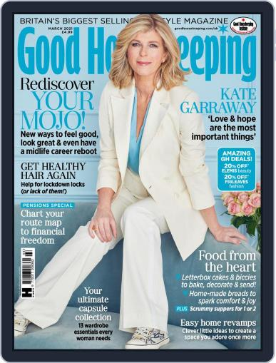 Good Housekeeping UK March 1st, 2021 Digital Back Issue Cover