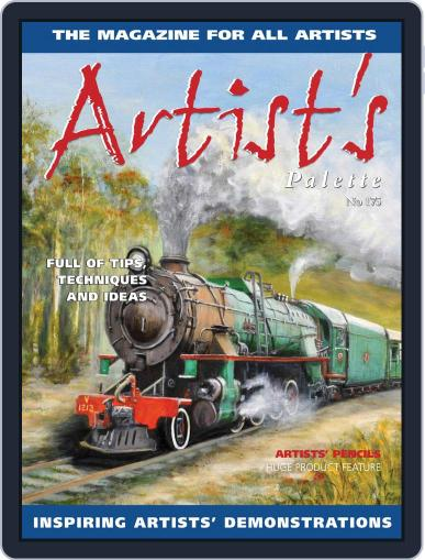 Artist's Palette (Digital) January 1st, 2021 Issue Cover