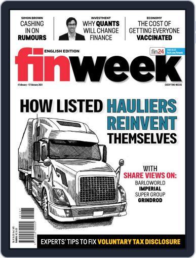 Finweek - English (Digital) February 4th, 2021 Issue Cover