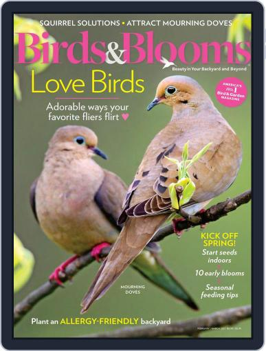 Birds & Blooms (Digital) February 1st, 2021 Issue Cover