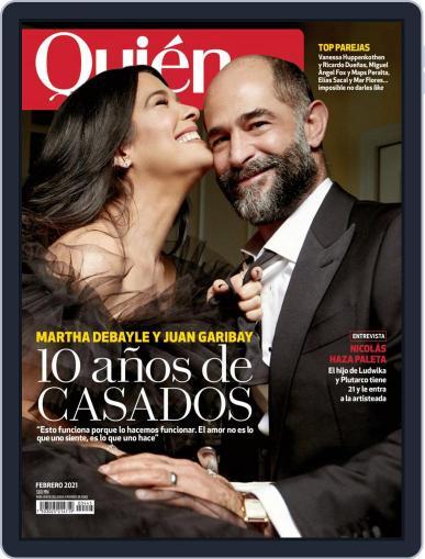 Quién (Digital) February 1st, 2021 Issue Cover