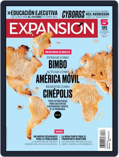 Expansión (Digital) February 1st, 2021 Issue Cover