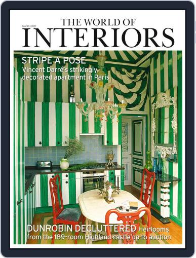 The World of Interiors March 1st, 2021 Digital Back Issue Cover