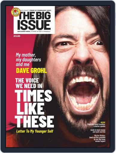 The Big Issue February 1st, 2021 Digital Back Issue Cover