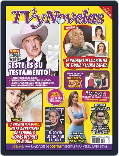 TV y Novelas México (Digital) February 1st, 2021 Issue Cover