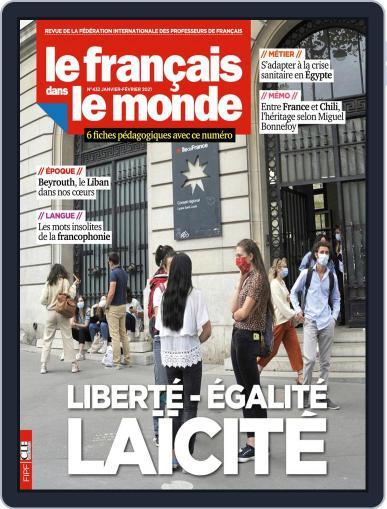Le Français Dans Le Monde January 1st, 2021 Digital Back Issue Cover
