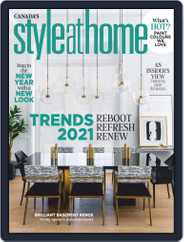 Style At Home Canada (Digital) Subscription January 1st, 2021 Issue