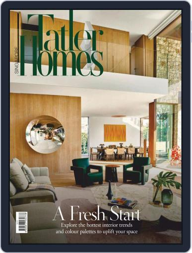 Tatler Homes Singapore February 1st, 2021 Digital Back Issue Cover