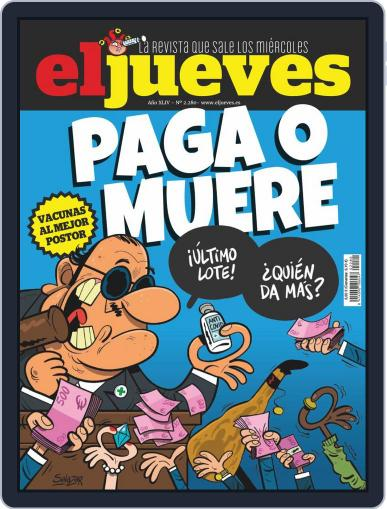 El Jueves (Digital) February 1st, 2021 Issue Cover