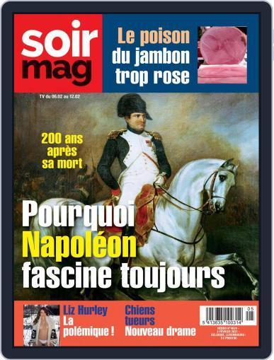 Soir mag February 3rd, 2021 Digital Back Issue Cover