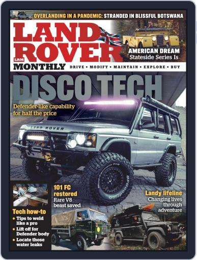 Land Rover Monthly March 1st, 2021 Digital Back Issue Cover