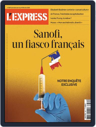 L'express (Digital) February 4th, 2021 Issue Cover