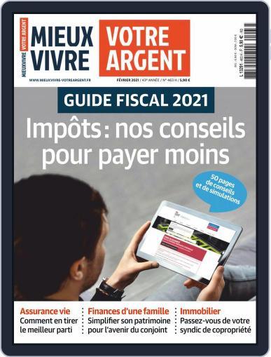 Mieux Vivre Votre Argent (Digital) February 1st, 2021 Issue Cover