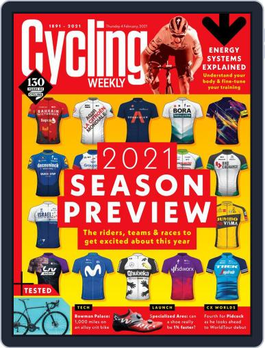 Cycling Weekly February 4th, 2021 Digital Back Issue Cover