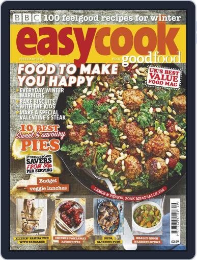 BBC Easycook February 1st, 2021 Digital Back Issue Cover