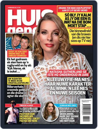 Huisgenoot (Digital) February 11th, 2021 Issue Cover