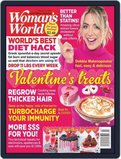 Woman's World February 15th, 2021 Digital Back Issue Cover