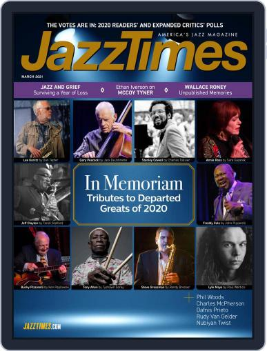 JazzTimes (Digital) March 1st, 2021 Issue Cover