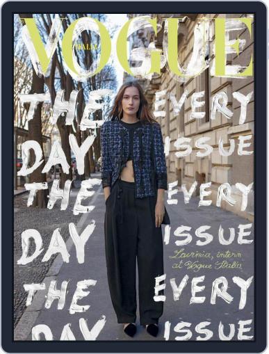 Vogue Italia (Digital) February 1st, 2021 Issue Cover