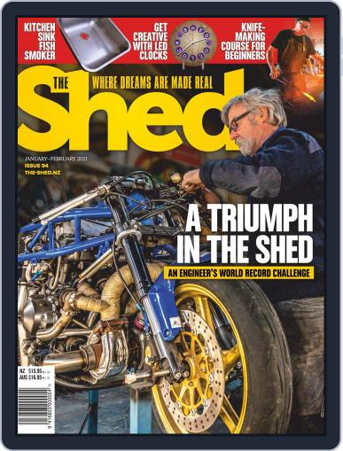The Shed January 1st, 2021 Digital Back Issue Cover